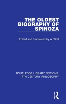 Oldest Biography of Spinoza