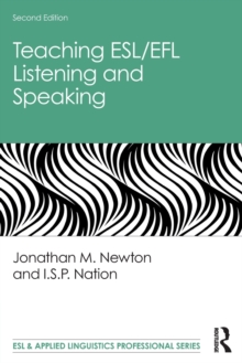 Image for Teaching ESL/EFL listening and speaking