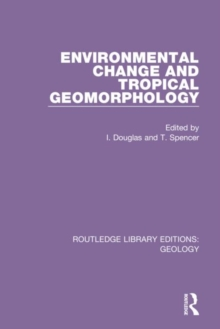 Image for Environmental change and tropical geomorphology