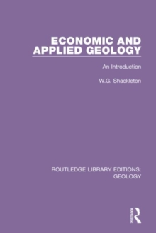 Image for Economic and applied geology  : an introduction