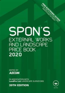 Image for Spon's external works and landscape price book 2020