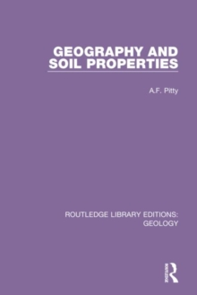 Image for Geography and soil properties