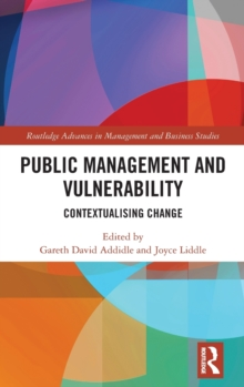 Image for Public management and vulnerability  : contextualising change