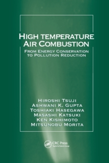 Image for High temperature air combustion  : from energy conservation to pollution reduction