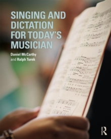Image for Singing and dictation for today's musician