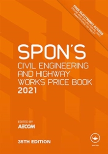 Image for Spon's civil engineering and highway works price book 2021