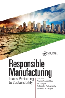Image for Responsible manufacturing  : issues pertaining to sustainability