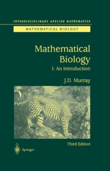 Image for Mathematical biology1: An introduction
