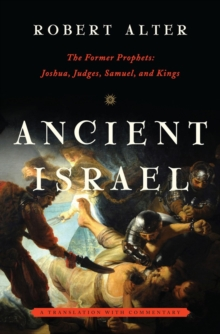 Image for Ancient Israel  : the former prophets