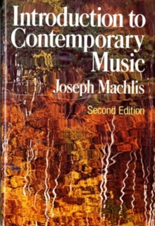 Image for Introduction to Contemporary Music