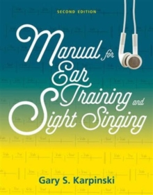 Image for Manual for Ear Training and Sight Singing