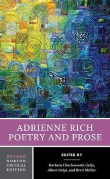 Image for Adrienne rich - poetry and prose