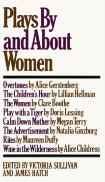 Image for Plays by and about Women