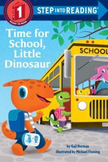 Image for Time for school, little dinosaur