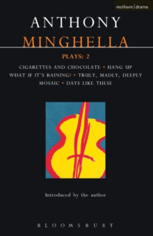 Image for Minghella Plays
