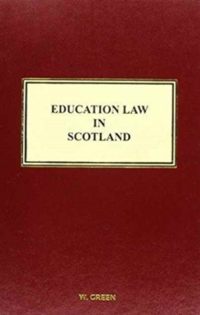 Image for Education law in Scotland
