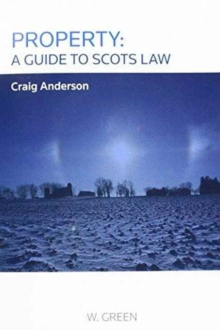 Image for Property  : a guide to Scots law