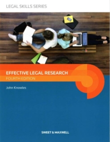 Image for Effective legal research
