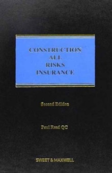 Image for Construction all risks insurance