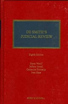 Image for De Smith's judicial review