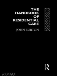 Image for The Handbook of Residential Care