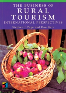 Image for The business of rural tourism  : international perspectives