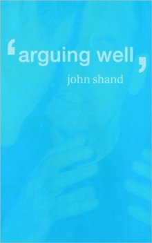 Image for Arguing well