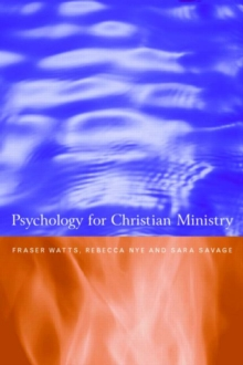 Image for Psychology for the Christian ministry