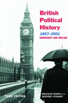 Image for British political history, 1867-2001  : democracy and decline