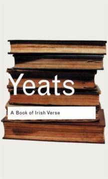 A Book of Irish Verse (Routledge Classics)