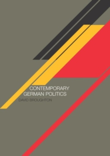 Image for Contemporary German politics