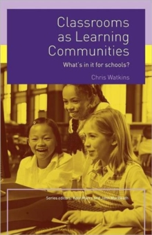 Image for Classrooms as learning communities
