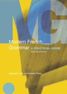 Image for Modern French grammar  : a practical guide