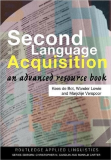 Image for Second language acquisition  : an advanced resource book