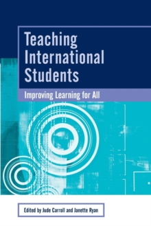 Image for Teaching international students  : improving learning for all
