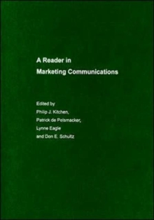 A Reader in Marketing Communications