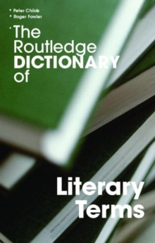 Image for The Routledge dictionary of literary terms