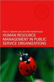 Image for Human resource management in public service organizations