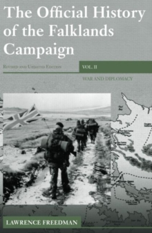 Image for The official history of the Falklands CampaignVol. 2: War and diplomacy