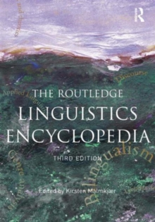Image for The Routledge linguistics encyclopedia