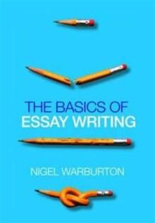 Image for The basics of essay writing