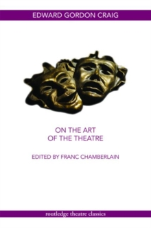 Image for On the art of the theatre