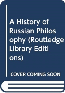 A History of Russian Philosophy