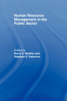 Image for Human resource management in the public sector