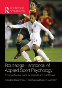 Image for Routledge handbook of applied sport psychology  : a comprehensive guide for students and practitioners