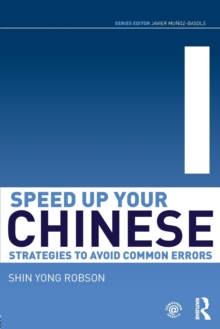 Image for Speed up your Chinese  : strategies to avoid common errors