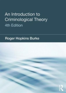 Image for An introduction to criminological theory