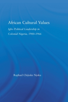 African Cultural Values (African Studies)