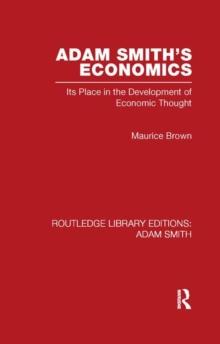 Adam Smith's Economics