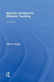 Image for Behavior analysis for effective teaching